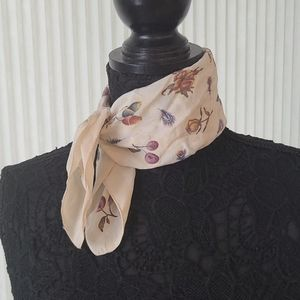 Fruits and Flowers Square Scarf
